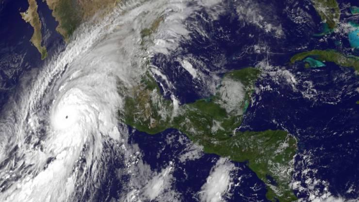 Das ist Mega-Hurrikan «Patricia».