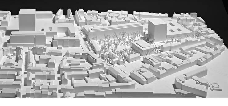 Modell des Siegerprojekts Arcadia.