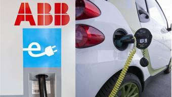 ABB baut Tankstellen für Elektroautos.