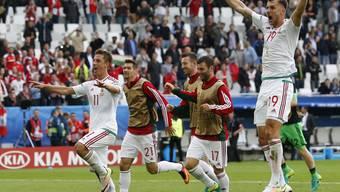 DIe 0:2-Niederlage von Österreich gegen Ungarn in Bildern.