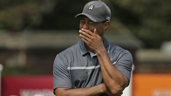 Die sportliche Durststrecke von Tiger Woods hat ihre Spuren hinterlassen.