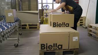 Der Büroartikel-Hersteller Biella-Neher soll französisch werden: Produktionsstätte in Brügg (Archivbild).