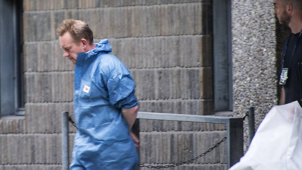 ARCHIV - Der dänische Erfinder Peter Madsen 2017 während seines ersten Gerichtsverfahrens. Foto: Meyer Kenneth/dpa