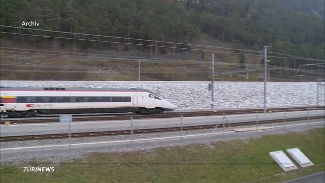Geschwindigkeitsrekord beim neuen Gotthard-Zug
