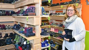 "Lou Vonesch betreibt in Trimbach den Kinderschuhladen ""Looshoos""."