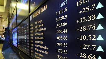 Dow Jones-Index schliesst rund 1 Prozent höher
