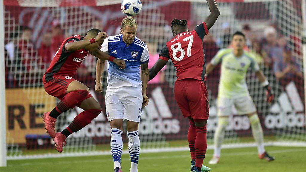Erster MLS-Treffer für Reto Ziegler