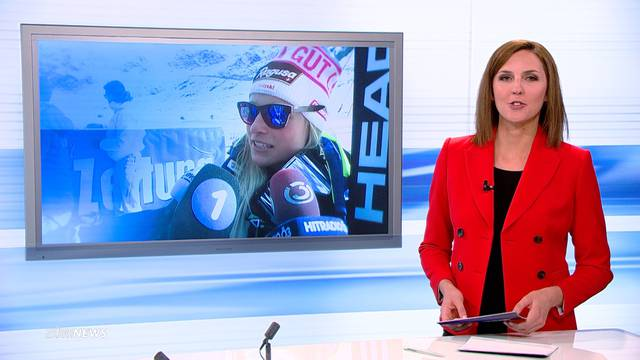 Skiabfahrt Cortina