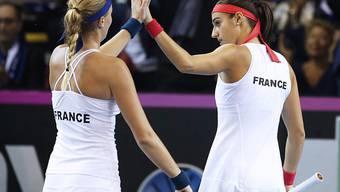 Das französische Fedcup-Team wird im Februar in Genf gegen die Schweiz von Yannick Noah gecoacht