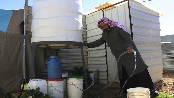 Syrischer Flüchtling in Jordanien. (Archivbild)