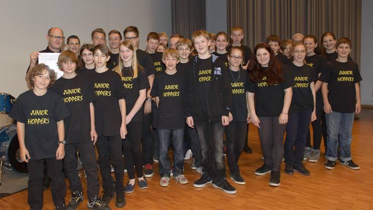 1. Rang am 4. Jugendensemble-Wettbewerb musiContest in Niederwil