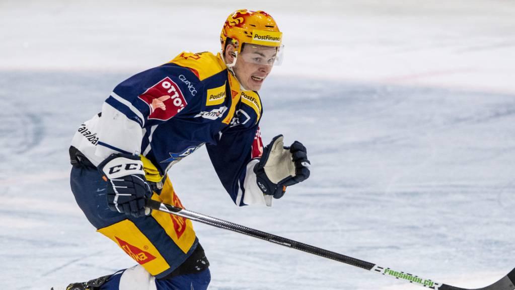 Möchte in der nächsten Saison in der NHL für Furore sorgen: Grégory Hofmann
