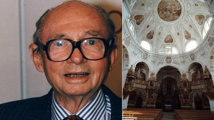 Felix von Habsburg wird ewig in der Klosterkirche Muri ruhen.