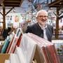 Peter-Lukas Meier im Rothus, wo der 21. Kunstsupermarkt stattfand.(Archivbild)
