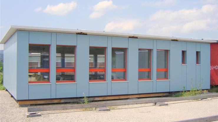 Dieser Büro-Container wird bald zu einem Jugendtreff umfunktioniert. ZVG