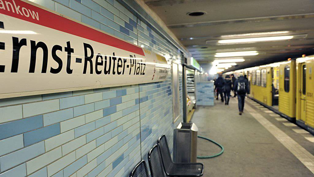 Die U-Bahn-Haltestellte, wo das Unglück geschah.