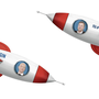 Die beiden Kontrahenten Jeff Bezos und Elon Musk befeuern den Weltraum-Zweikampf.