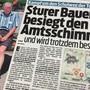 Die Boulevardzeitung «Blick» bewirtschaftete den Sissacher Schulweg-Streit über Wochen.