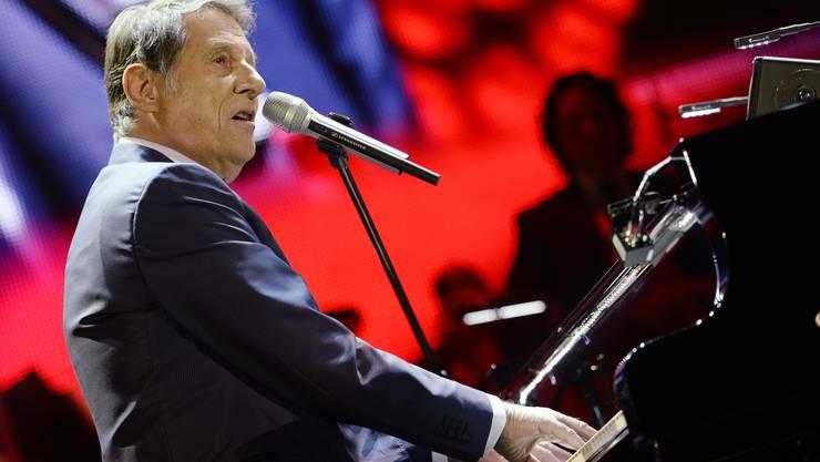 Udo Jürgens bei seinem Auftritt im Hallenstadion am 7. Dezember 2014.