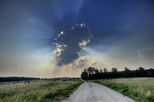 Wolke in der Wowoidschaft Ermland-masuren