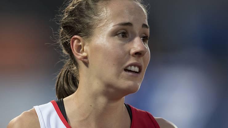 800-m-Läuferin Selina Büchel wusste beim Hallenmeeting in Düsseldorf als Zweite zu überzeugen