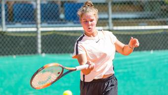Tennis: Tag 1 Fromm Swiss Junior Trophy