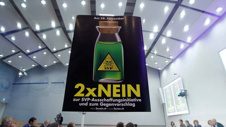 Aargauer SP befindet über Ausschaffungsinitiative