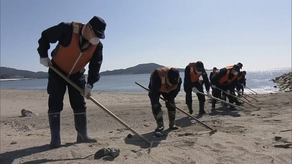 Fukushima: Japaner gedenken der Tsunami-Katastrophe vor zehn Jahren