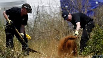 Polizisten auf Spurensuche im Fall Maddie im Süden Portugals