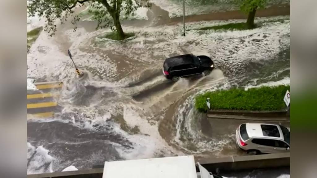 So heftig wüteten die Unwetter in der Zentralschweiz