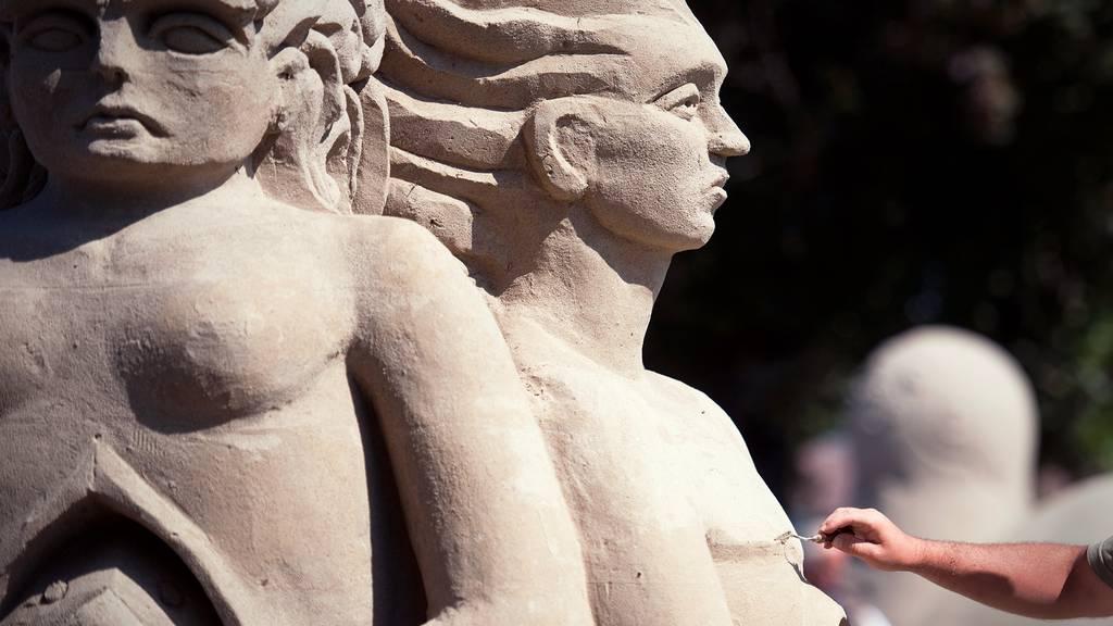 Sandskulpturen