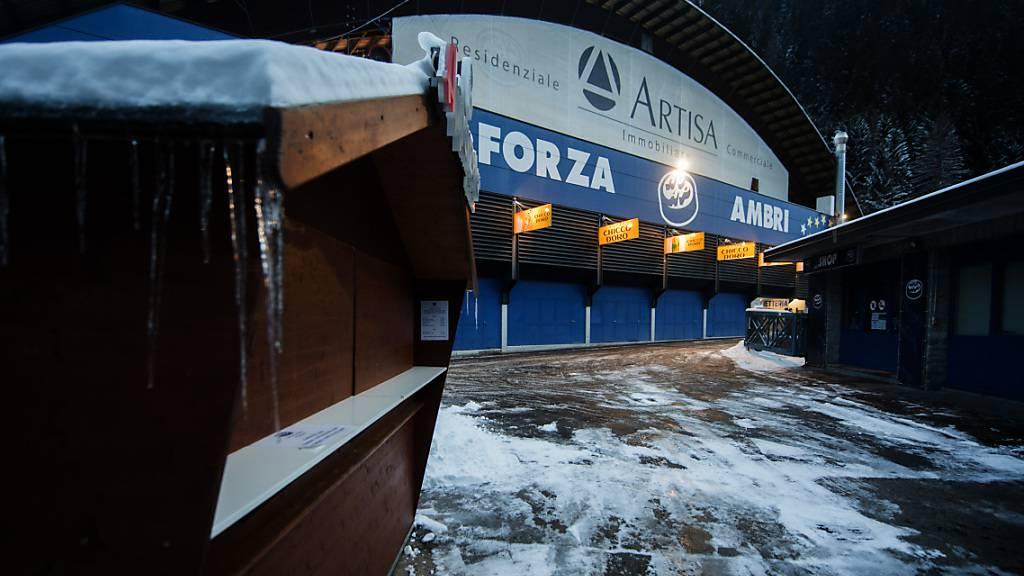 Wegen Coronavirus: Baustopp für neues Ambri-Stadion