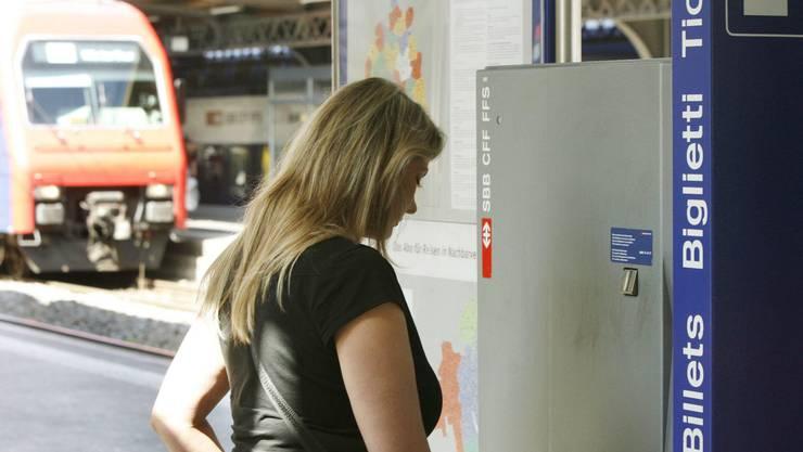 <p>Die Zeiten vom SBB-Billetautomaten sind vorbei</p>