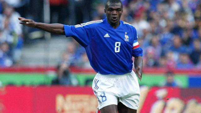 Marcel Desailly 2000 als Captain von Frankreichs Nationalmannschaft