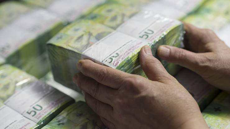 Geld drucken darf nur die Nationalbank. Bargeld macht aber nur einen kleinen Teil des im Umlauf befindlichen Geldes aus.