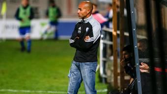 Wird Wohlen-Trainer Piu Nascimento gegen Bellinzona sein Team zum Sieg führen?