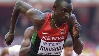 David Rudisha wurde an den nationalen Titelkämpfen in Kenia nur Dritter über 800 Meter