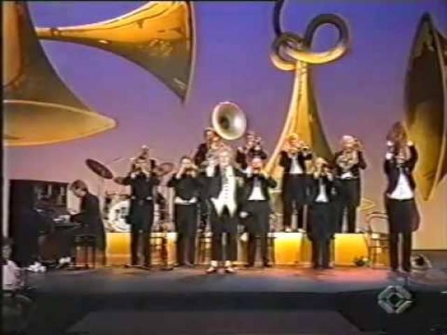 """Letzter Auftritt der """"First Harmonic Brass Band"""" im Benissimo, 1992"""