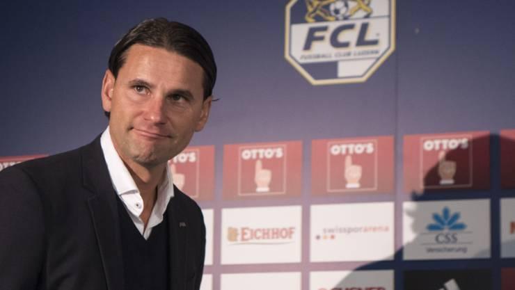 FCL-Coach Gerardo Seoane darf sich über einen Neuzugang im Mittelfeld freuen