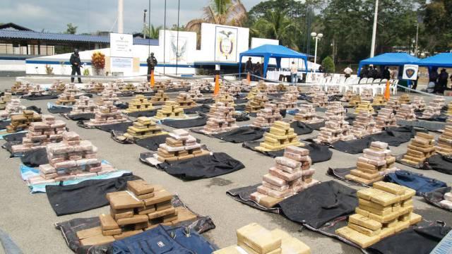 3,78 Tonnen beschlagnahmtes Kokain in Ecuador (Archivbild)