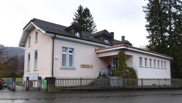 Kindergarten Rainweg: nach Ansicht des Gemeinderates lieber ein Neubau als eine teure Sanierung.