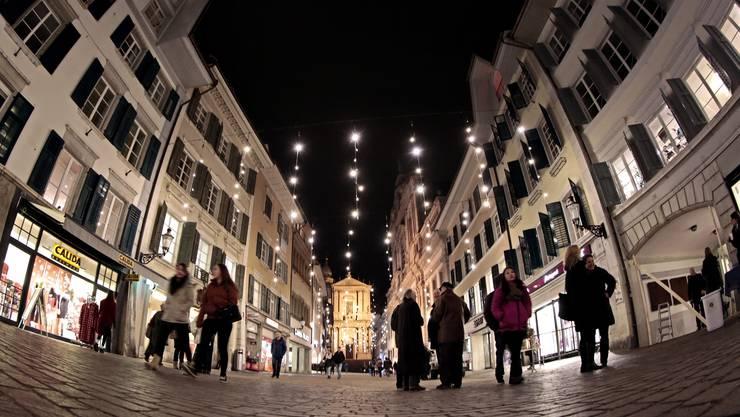 So siehts zur Weihnachtszeit in der Altstadt aus. (Archiv)