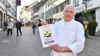 Hans-Peter Rubi weiss um die Vorzüge der Oltner Altstadt; die Frage ist nur, wie man diese Vorzüge ins Bewusstsein möglicher Kunden bringt. Bruno Kissling
