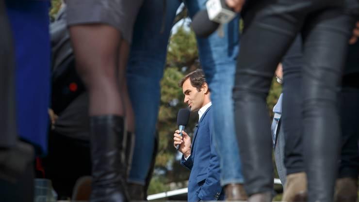 Roger Federer kennt nur den Ausnahmezustand.