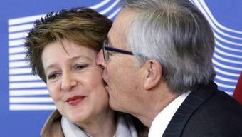 Küssende Politiker