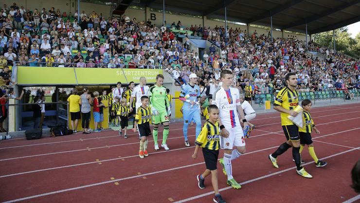 Der FC Basel U21 gewinnt zum Auftakt der Promotion-League-Rückrunde das Derby gegen die Old Boys mit 2:0 (0:0).