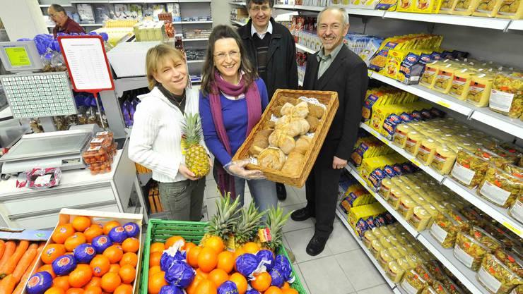 Früchte und Gemüse kommen im Caritas-Markt Olten gut an.