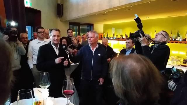 Philipp Müller erklärt das Rezept seines Wahlsieges. (22.11.2015)