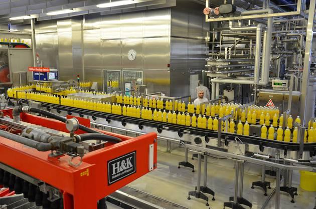 Alle zwei Wochen ist «Passaia»-Tag in der Produktionsanlage in Rothrist bei Rivella.