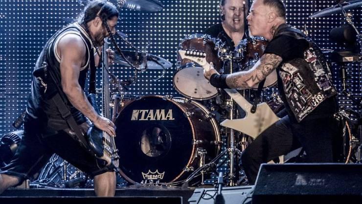Die amerikanische Heavy-Metal-Band Metallica wird mit dem hochdotierten schwedischen Polar-Preis ausgezeichnet. (Archivbild)